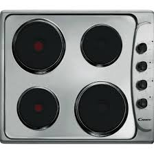 candy stainless steel solid plate hob ple64x